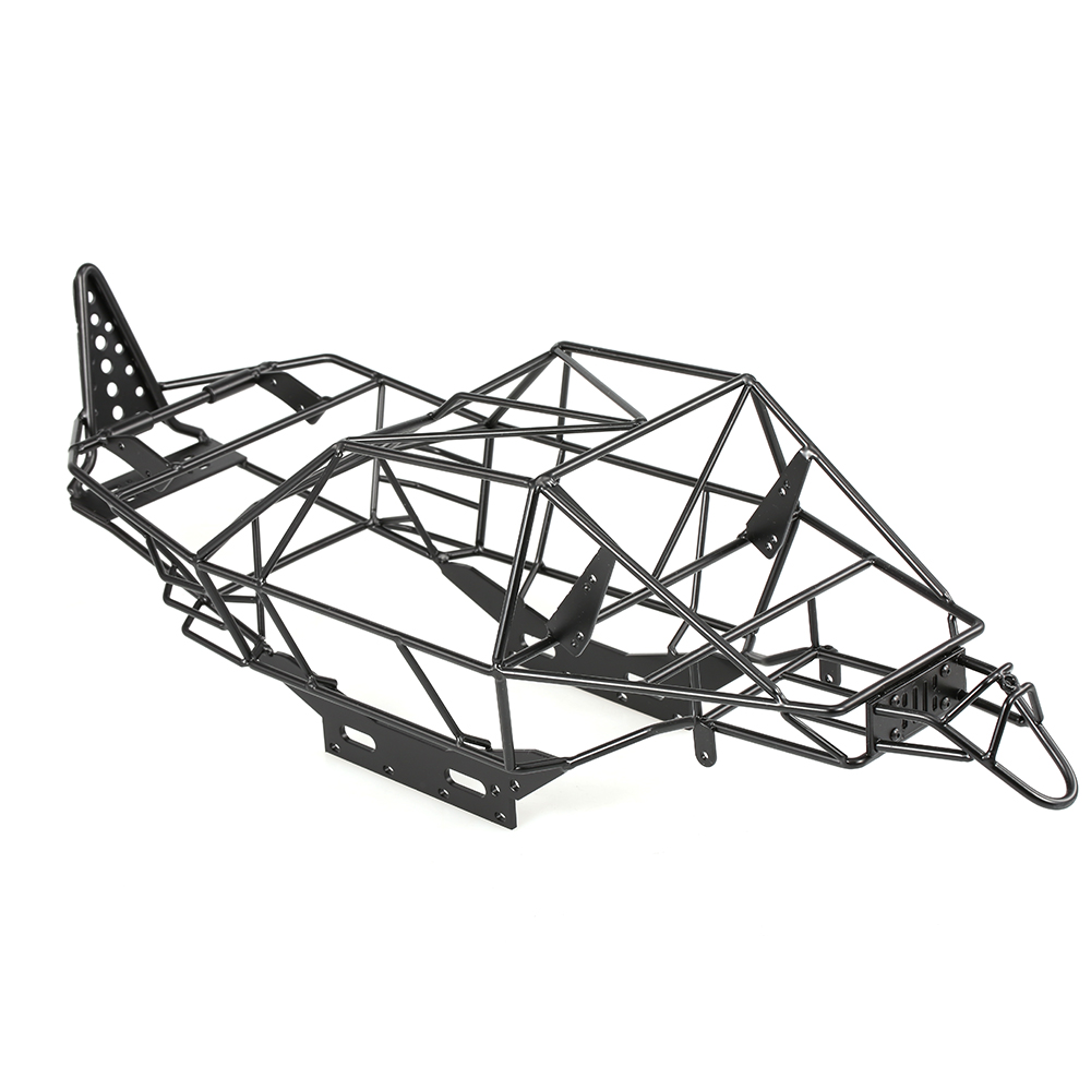все цены на Roll Cage Chassis Frame Metal RC Car Body Frame for 1/10 Axial RR10 90048/90053 DIY RC Car Rock Crawler Parts Vehicle Accessory онлайн