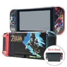 Nintendo Switch Защитный чехол Крышка Joy-Con джойстик устройство по управлению Nintendo S переключатель аксессуары ЗАЩИТА Жесткий корпус подходит-в-док-станции