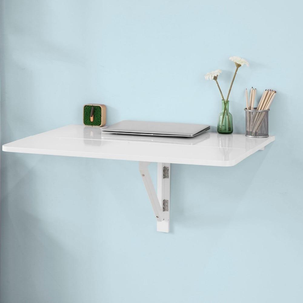 €61.04 10% de DESCUENTO|SoBuy FWT02 Mesa de cocina, mesa de madera, mesa  plegable de pared, mesa de comedor-in Mesas de comedor from Muebles on ...