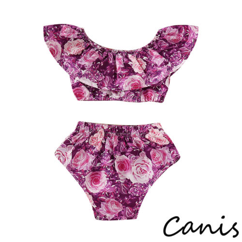 Pants Short-Tops Outfit Floral Newborn Baby-Girl Fashion Summer Print PP Off-Shoulder