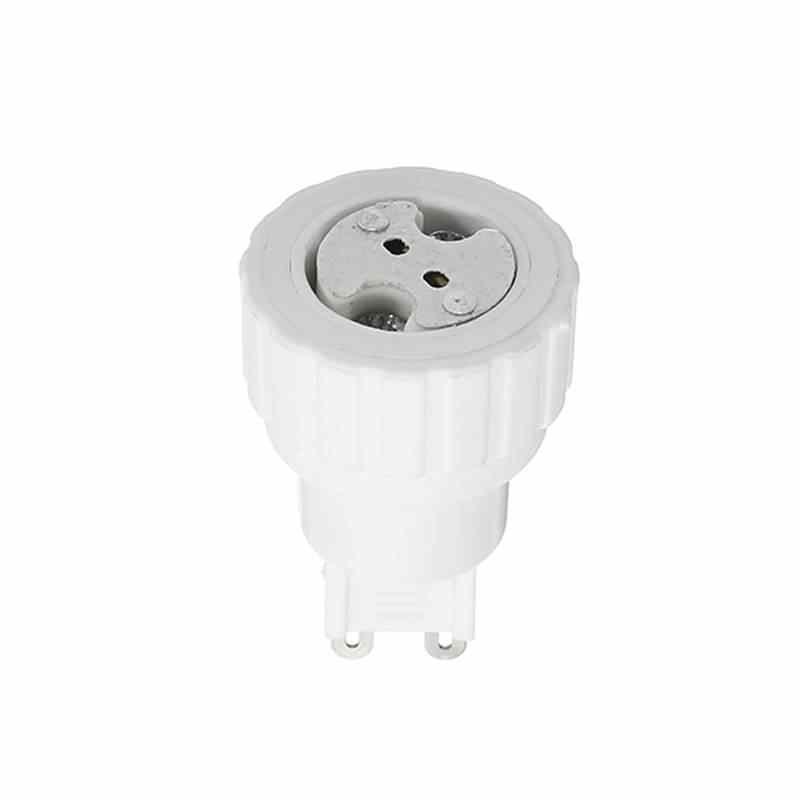 Retardant PBT Lamp Holder G9 To MR16 Lamp Base Converter Adapter Socket Base For LED Halogen CFL Light Bulb AC220V