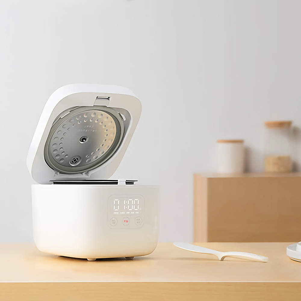 Image 4 - 샤오미 Mijia 1.6l 전기 밥솥 주방 미니 밥솥 작은 밥 요리 기계 지능형 약속 Led 디스플레이밥솥   -