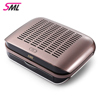 SML C1 68W Nail Dust Collector Fan Strong Suction Machine Vacuum Cleaner For Manicure Dust Collector Nail Art Salon Equipment