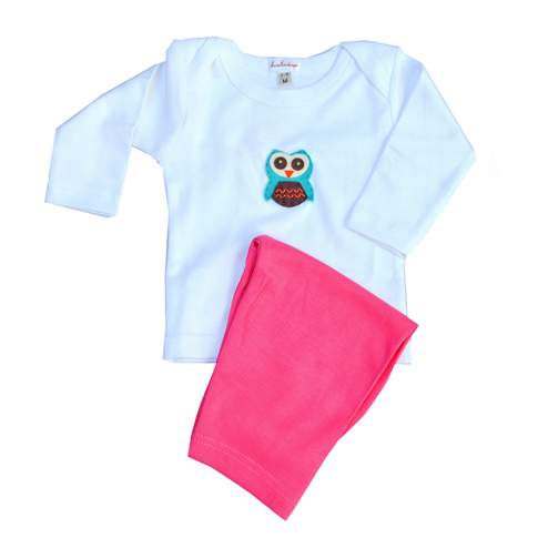 Loralin Design GOW3 Owl Outfit 3-6 Months