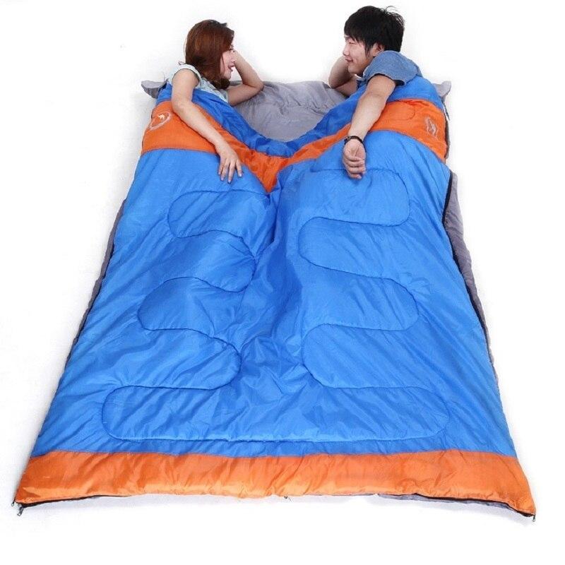 Camcel Ultra-Léger de Camping Sac de Couchage Adulte Hiver Sac de Couchage de Camping De Couchage Double Sacs de Couchage lit 2.8 kg