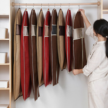 Hanging-Bag Dust-Cover Garment Non-Woven-Fabric Coat Dress Moth-Proof-Protector