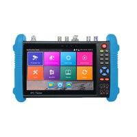 Ip Camera Tester 7 Inch Hd Ips Press Screen 1280 x 800 Cctv Tester Monitor Ahd Tvi Cvi Sdi Tdr H.265 Multimeter Ipc 9800 Movta