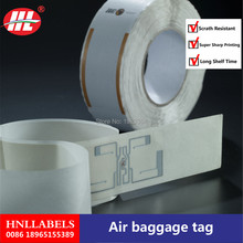 Buy China Manufacturer Supply Custom Printed Thermal Baggage Tag directly from merchant!