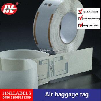 China Manufacturer Supply Custom Printed Thermal Baggage Tag