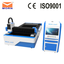 MORN L1325F CNC Metal Laser Cutting Machine 500w 1kw 2kw Fiber Laser Metal Cutting Machine with Sawtooth Worktable
