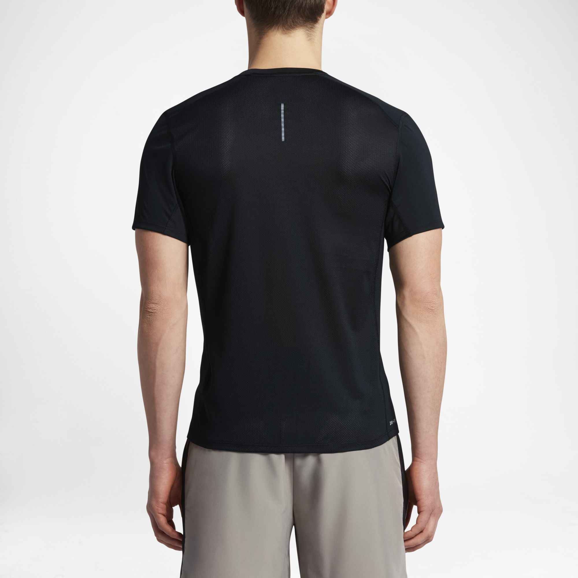 064cc4d84 ... Nike Official NIKE DRY MILER Men Running Jacket Outdoor Sports  Comfortable Breathable T-shirt ...