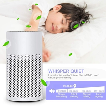 цена на 3 In 1 Mini Air Purifier With Filter - Portable Quiet Mini Air Purifier Personal Desktop Ionizer Air Cleaner,For Home, Work, O