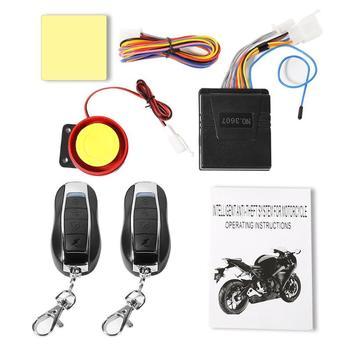 Alarma de Control remoto, sistema de seguridad de motocicleta, protección contra robo...