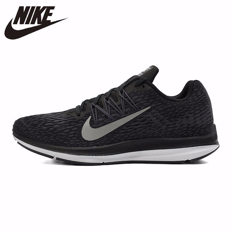 new product 10f60 06611 US $202.5 70% OFF|NIKE ZOOM WINFLO 5 New Pattern Arrival Original Men  Running Shoes Light Low Comfortable Breathable Sneakers #AA7406 005-in  Running ...