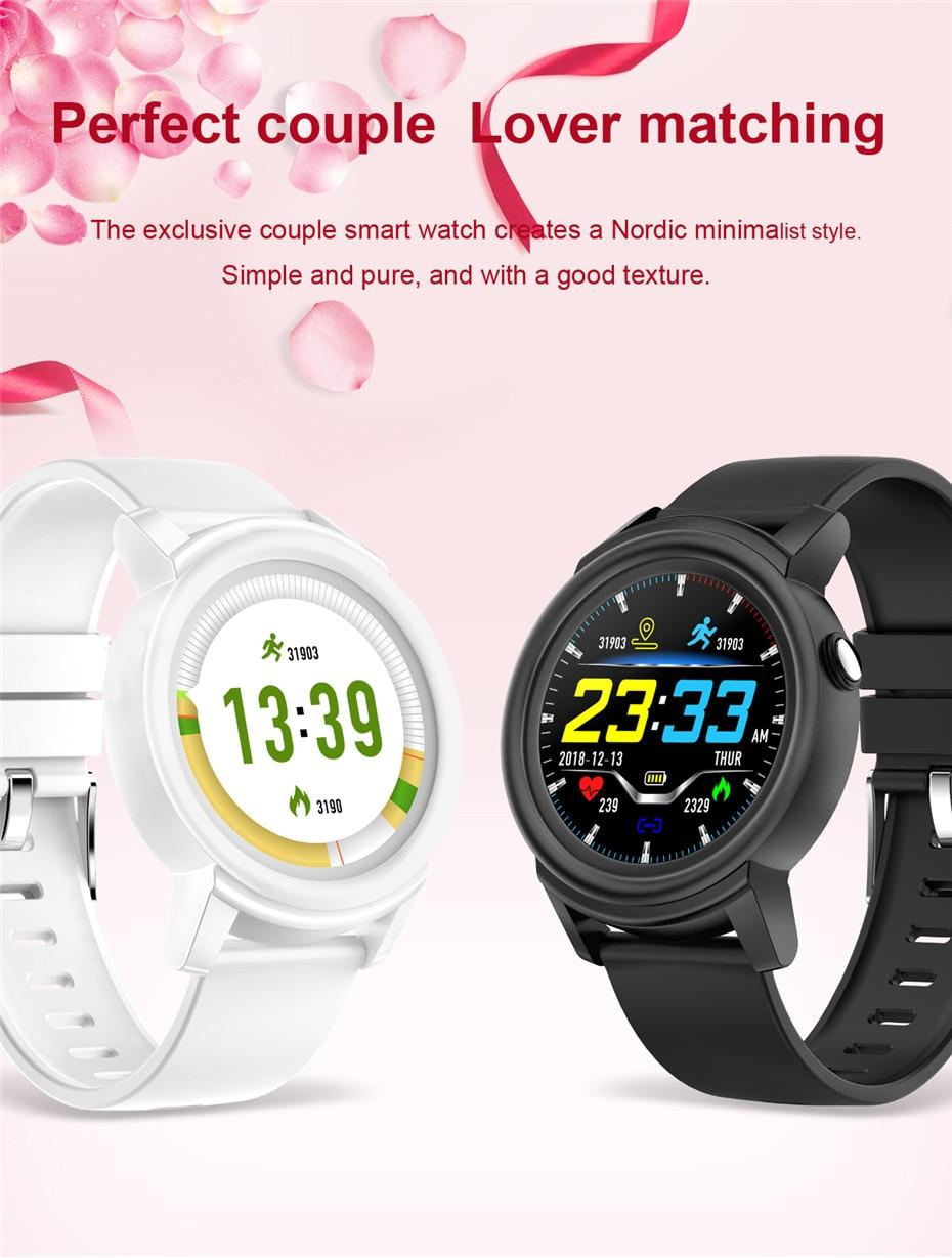 Uhren Dk02 Paar Smart Uhr Männer Nachricht Erinnerung Fitness Sport Tracker Frauen Wasserdichte Smart Armband Besten Geschenke Für Sie/ihn Digitale Uhren