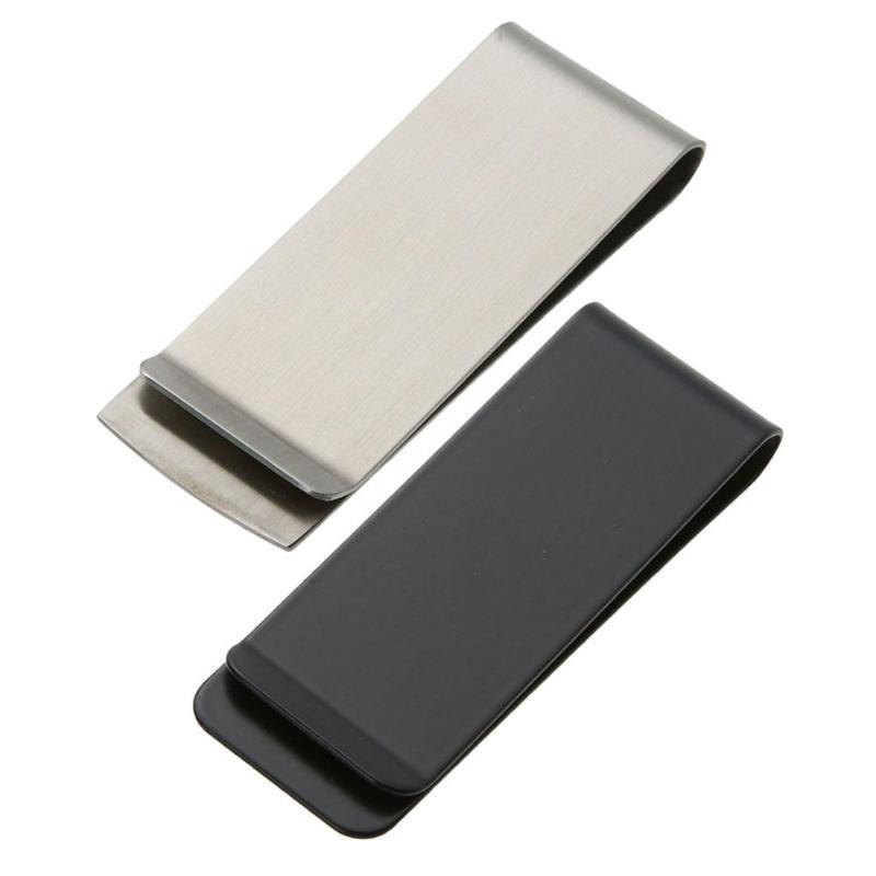Металлический держатель с зажимом для воротника (черный)