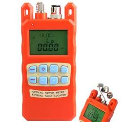 Free shipping two-in-one AUA-70AC Fiber Optic Power meter with 10km Laser source Visual Fault locator 10mw