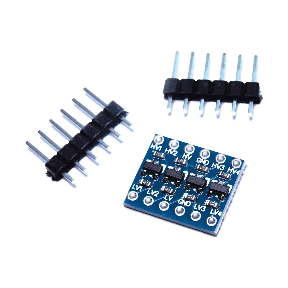 5x level converter 4 channel 5V - 3.3V Level Shifter bidirectional For I2C Arduino Raspb5x level converter 4 channel 5V - 3.3V Level Shifter bidirectional For I2C Arduino Raspb