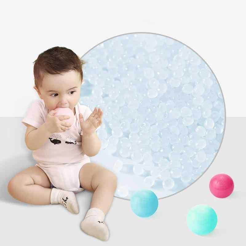 25/50/100 pcs PVC Eco Macaroon Mar Bolas Coloridas Bolas de Piscina da Barraca Crianças Playground Brinquedos Divertidos