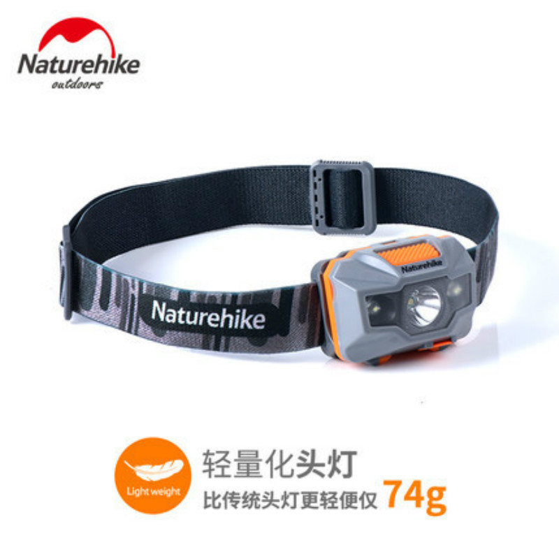 Naturehike USB Charge LED Headlamp Camping Headlight Outdoor Light Waterproof Headlights Go Fishing Head Wear Light NH00T002-D