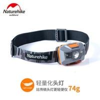 Naturehike-linterna frontal LED con carga USB para acampada, faro para exteriores, resistente al agua, para ir a pescar, NH00T002-D