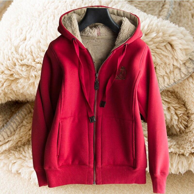 Bts vestes à capuche femmes hiver 2018 nouveau cachemire décontracté sweat épais chaud à capuche vestes manteaux outwear harajuku sudadera mujer