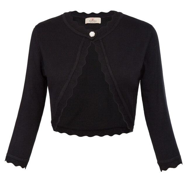 Elegante chaqueta de mujer otoño primavera ojal, tres cuartos de la ...