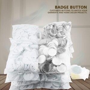 Image 5 - 1000pcs 58mm DIY Blank Pin Badge Button Parts Consumables for Pro Button Maker Wholesale Reusable sturdy button badges