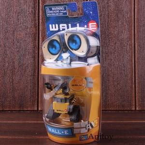 Image 2 - רובוט וול E & EVE PVC פעולה איור אוסף דגם צעצועי בובות 6cm