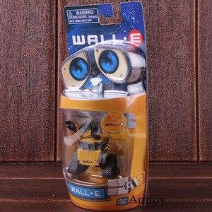 Image 2 - Wall e robô parede e & eve pvc action figure coleção modelo brinquedos bonecas 6cm