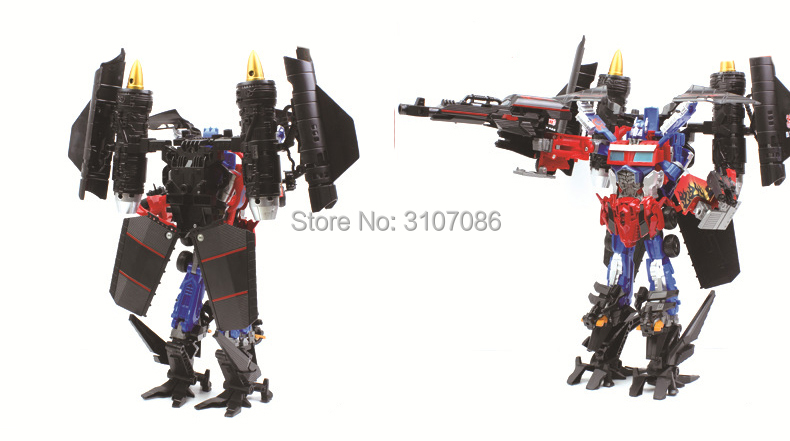 Image 4 - Movie TF Transformation jetfire Vest Fit OP Commander DX9 2in1 Ko Action Figure Robot Toys-in Action & Toy Figures from Toys & Hobbies