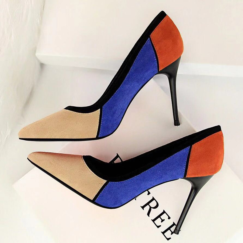 Fashion Sexy Lady New Pumps Shoes Sexy Heel Shallow Mouth Pointed Toe Party ShoesFashion Sexy Lady New Pumps Shoes Sexy Heel Shallow Mouth Pointed Toe Party Shoes