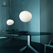 Mordern Glass Pendant Lights Lustre Loft Decor Nordic Led Stair Hanging lighting Dining Room Study Kitchen Light Fixtures