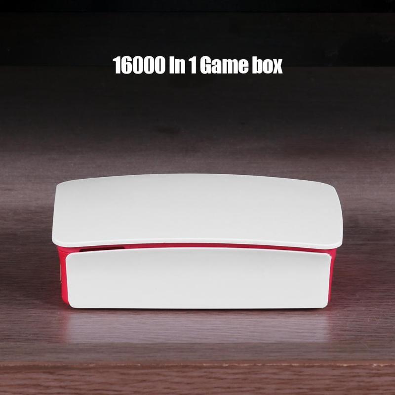 16000in1 128G Quad Core TV Console de jeu de boîte de jeu pour Rraspberry Pi avec des manettes de manette câblées USB accessoires de Console de jeu