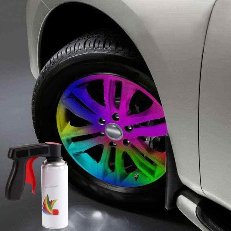 New Spray Adaptor Paint Care Aerosol Spray Gun Handle with Full Grip Trigger Locking Collar Car Maintenance Painting Paint Tools