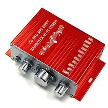 2 Channel HY-2001 Amplifiers 20Hz-20kHz Aluminum Mini Hi-Fi Power Amplifier Audio