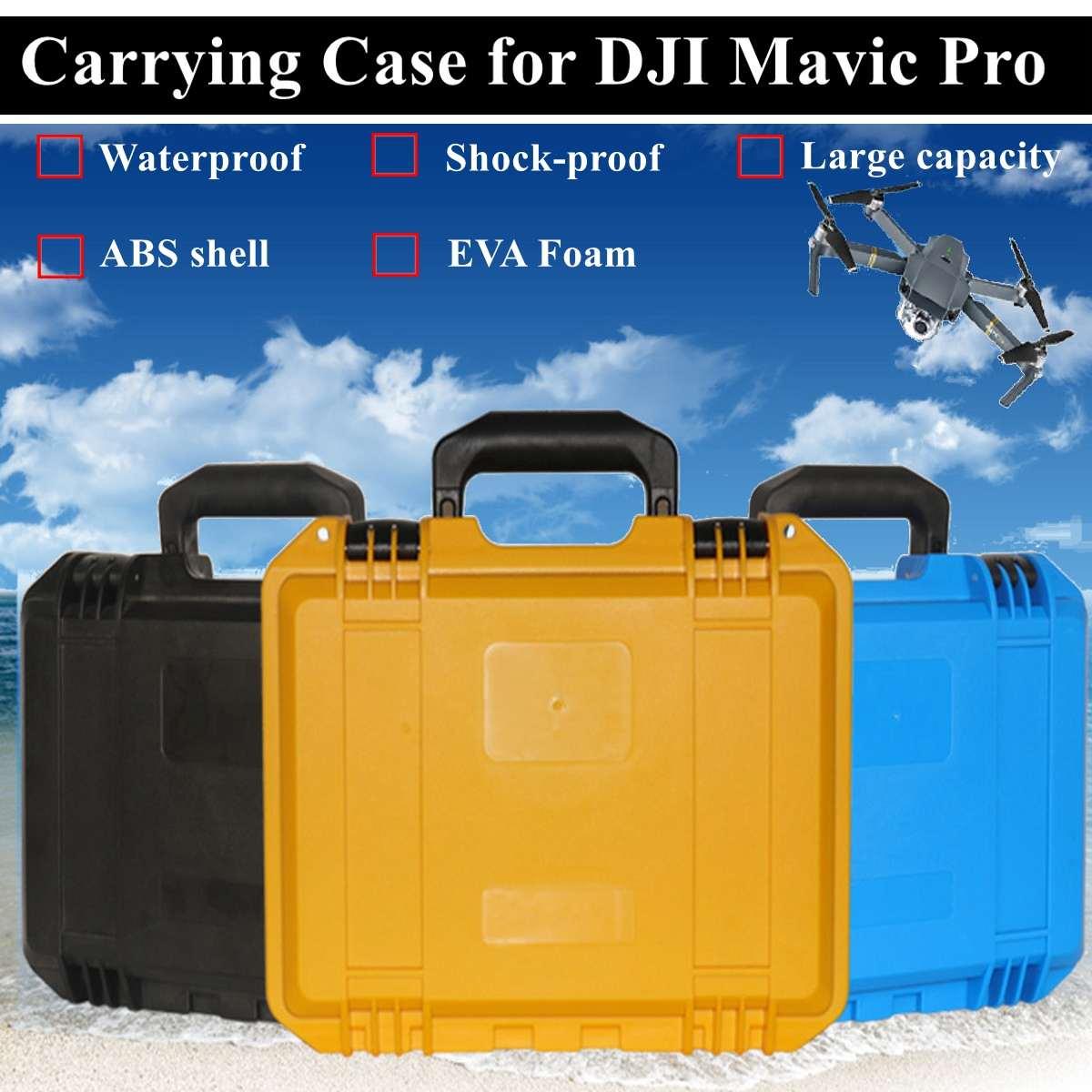 Coque rigide étanche à la pluie boîte de protection Durable pour DJI MAVIC PRO Drone étanche et Durable