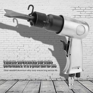 Image 2 - 150mm 산업용 강력한 핸들 스트레이트 타입 에어 치즐 공압 해머 삽 도구