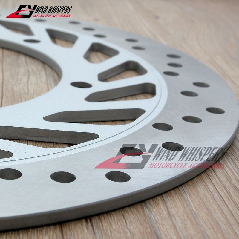 Motorcycle Front Disc Brake Rotor For Honda VF250 Magna 250-in Brake Disks from Automobiles & Motorcycles    2