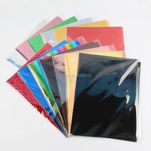 50 листов A4 Размер фольга Бумага Винил переводная элегантность визитная карточка ламинатор для ламинирования используется Печатный лазерный принтер