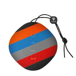 Image 4 - Lenyes Bluetooth スピーカーため S801 クリエイティブポータブルスピーカーミニ屋外ワイヤレスヤシ音響防水キャンプ