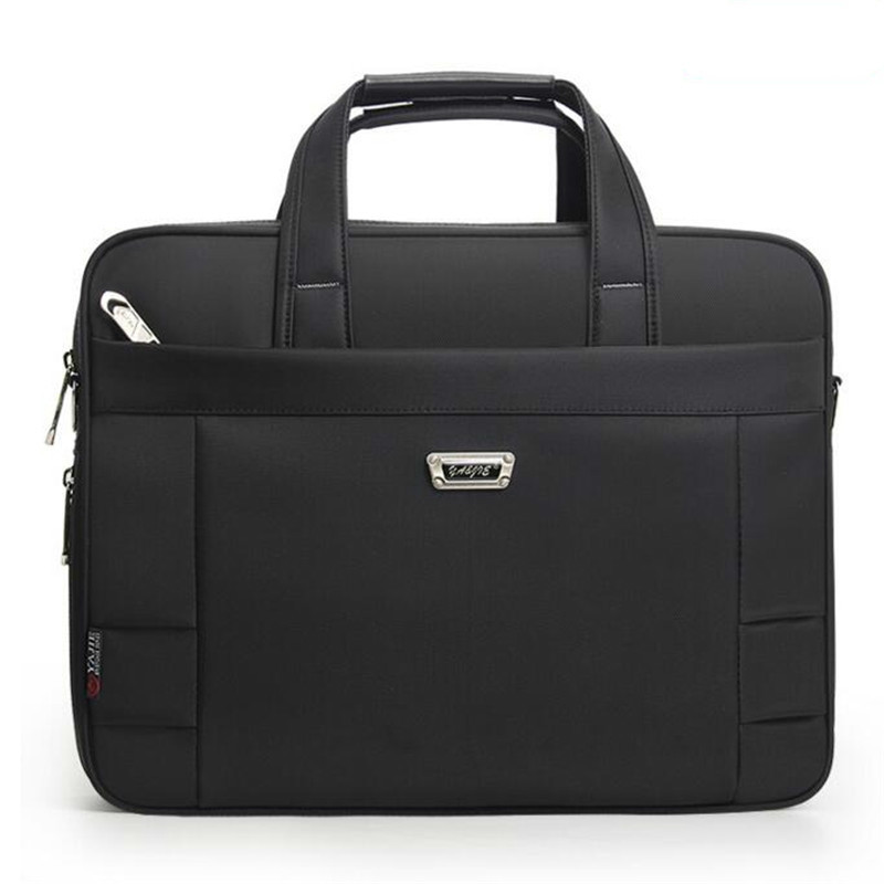 Business Bags Waterproof Classic Men's Shoulder Work Handbag Men Briefcase Laptop Bag Bolsa Women High Quality Oxford Handbags