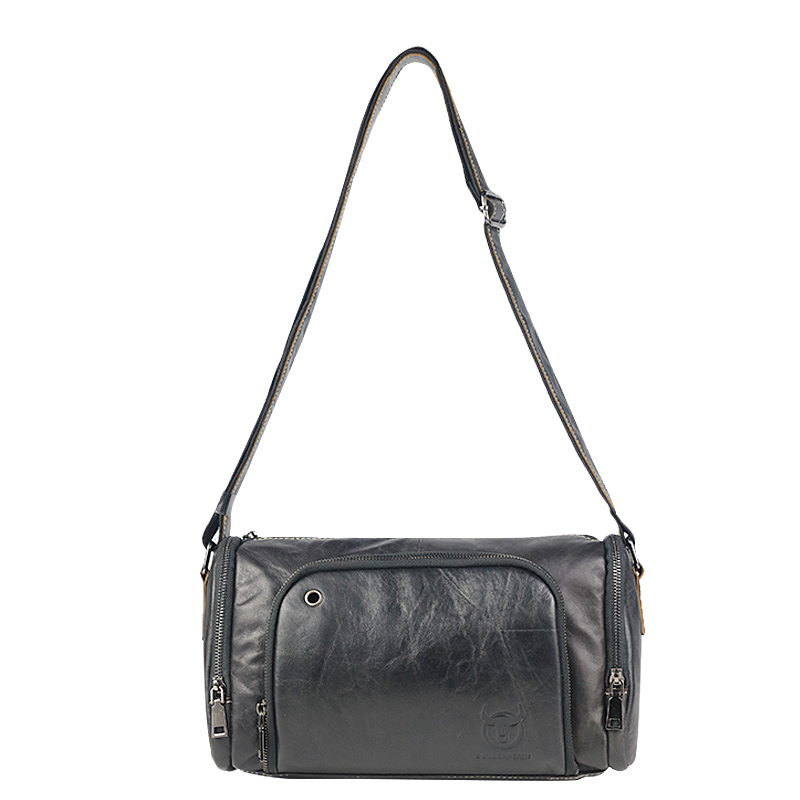 BULLCAPTAIN High Quality Fashion Male Genuine Leather Bag Shoulder Bags Crossbody Travel Bags Brand Messenger Bag