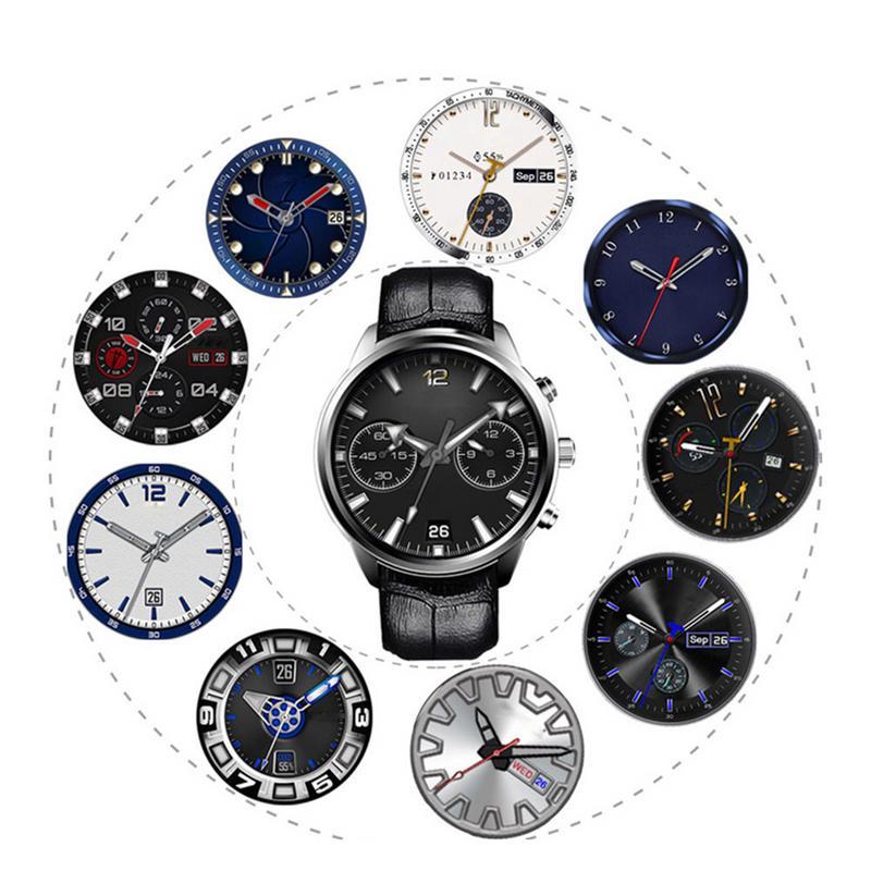 X5Air Bluetooth умные часы 2 г + г 16 г большая память полный круглый экран wifi умные часы для X5Air 3G Android умные часы