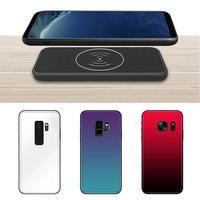For Samsung Note9 Magnetic Back Clip Charger Wireless Fast Charging Shockproof Protective Phone Cover Split Battery