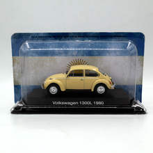 IXO Altaya 1:43 V~W 1300L 1980 Diecast Models Toys Car Limited Edition Collection(China)