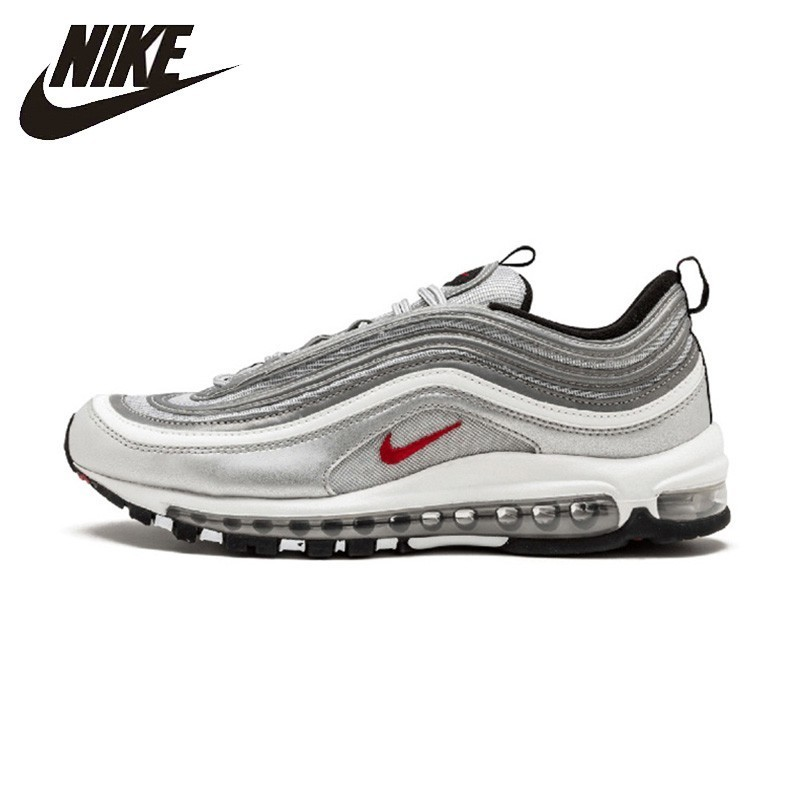 Original Authentic Nike Air Max 97 Ultra SE Women's Running Shoes Fashion Outdoor Sports Shoes Comfortable Breathable AQ4137 100