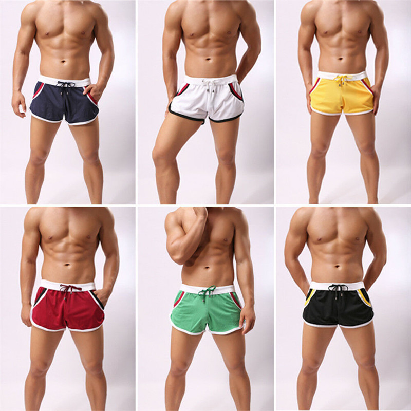 Men Casual Quick-drying   Short   Pants Sports   Shorts   Gym Wear Men Running Fitness Sports Wear Breathable Trousers   Shorts   6 colors