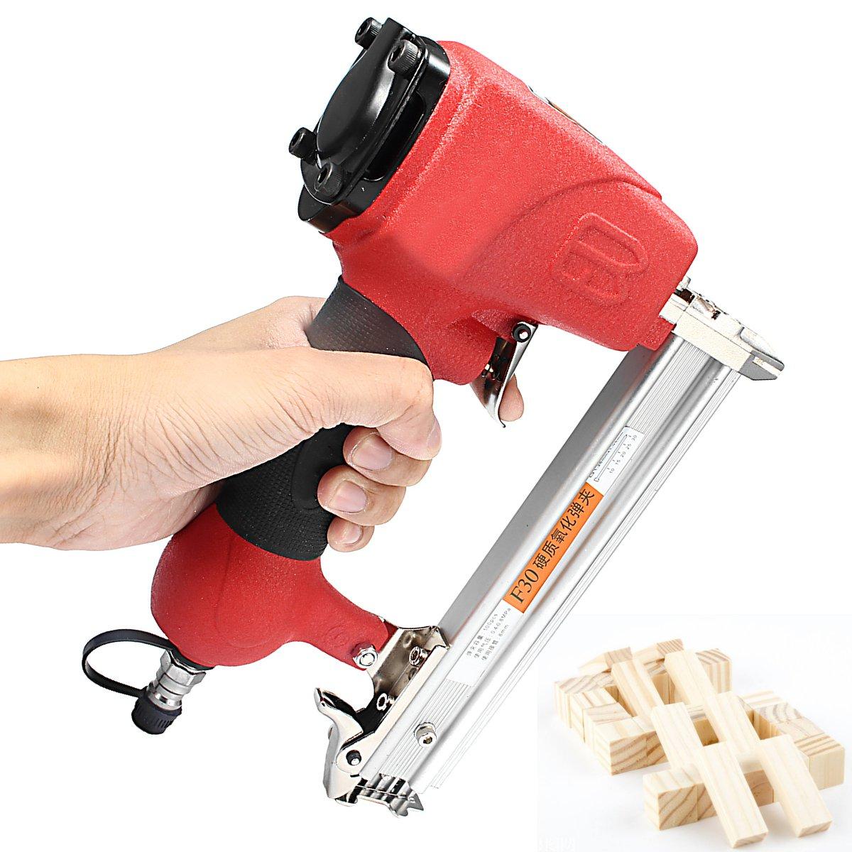 Cordless Electric Nailer Air Nailer Staple Guns Straight Nail 10 30mm Woodworking Framing Tools Power Tools Home Renovation