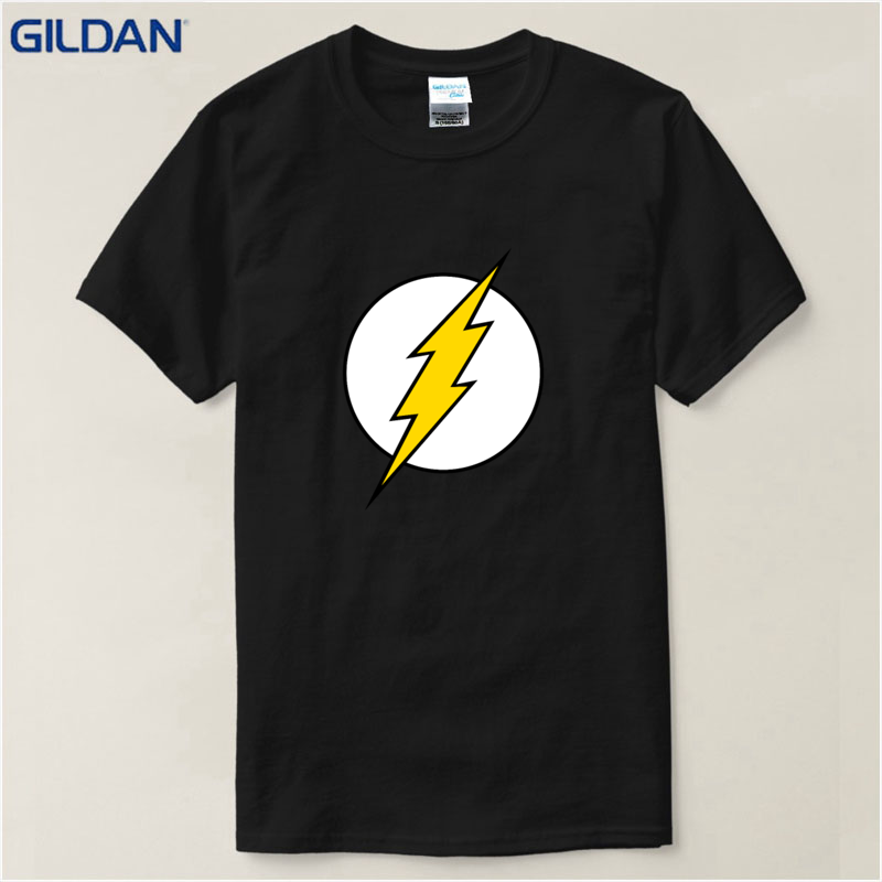 Flash Logo Distressed Sheldon Cooper Junior T Shirt Dames: kleding